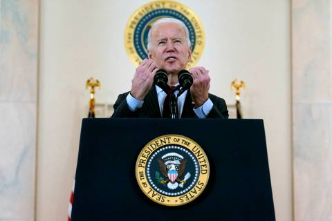 President Joe Biden. (AP Photo/Evan Vucci)