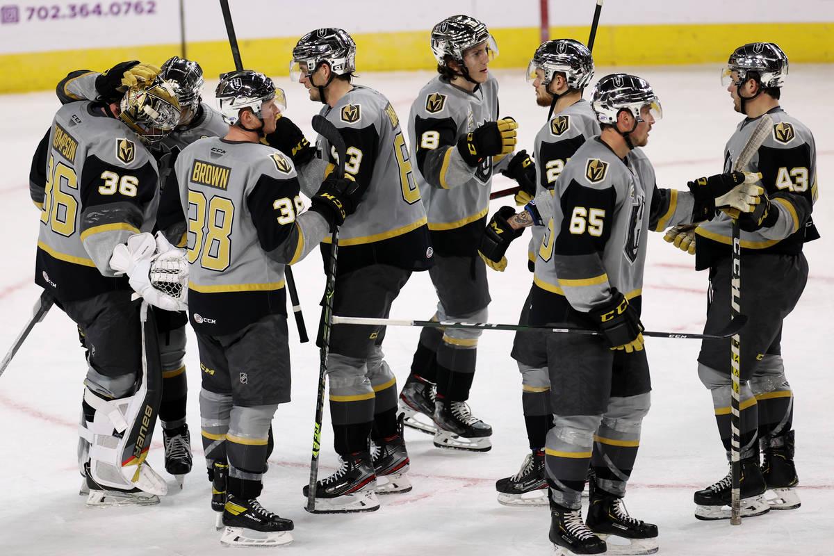 Silver Knights win Pacific Division title in inaugural season