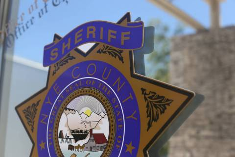 The Nye County Sheriff's office. (Rachel Aston/Las Vegas Review-Journal)