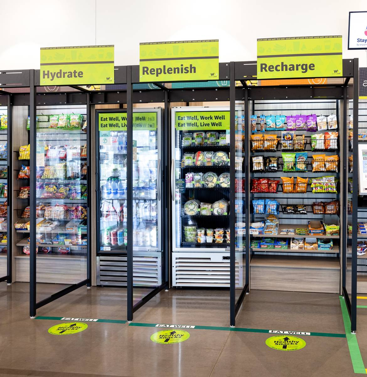 Amazon's new WorkingWell initiative includes access to healthy eating options. (Amazon)