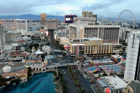 The Las Vegas Convention and Visitors Authority's seven-member marketing committee will meet ...