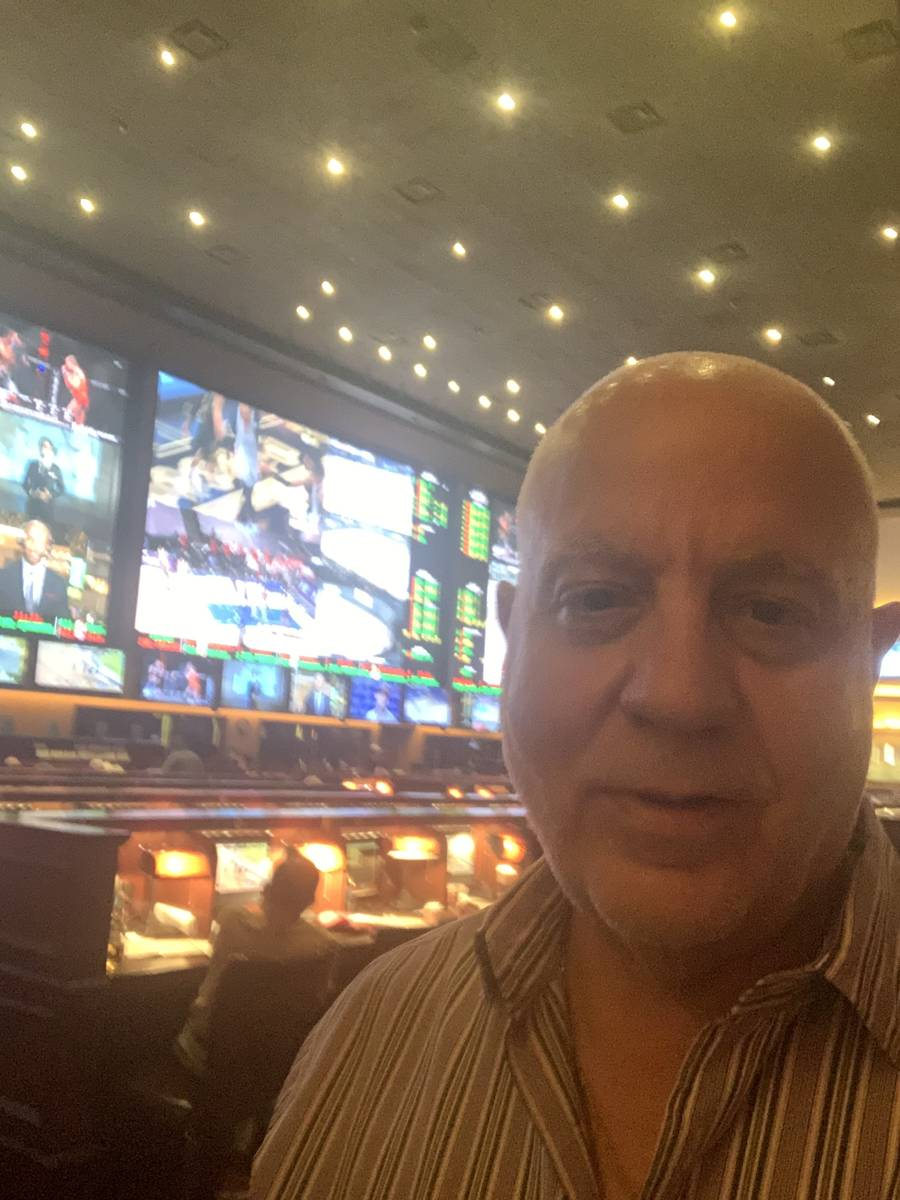 Art Manteris, Station Casinos sportsbooks vice president, on his last day at Red Rock Resort on ...