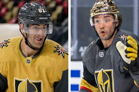 Golden Knights forward Max Pacioretty and defenseman Alec Martinez didn't practice Saturday, ...
