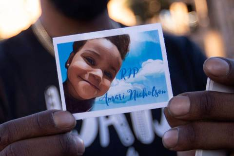 JD Nalls, who was Amari Nicholson's stepfather for a time while he was in a relationship with h ...