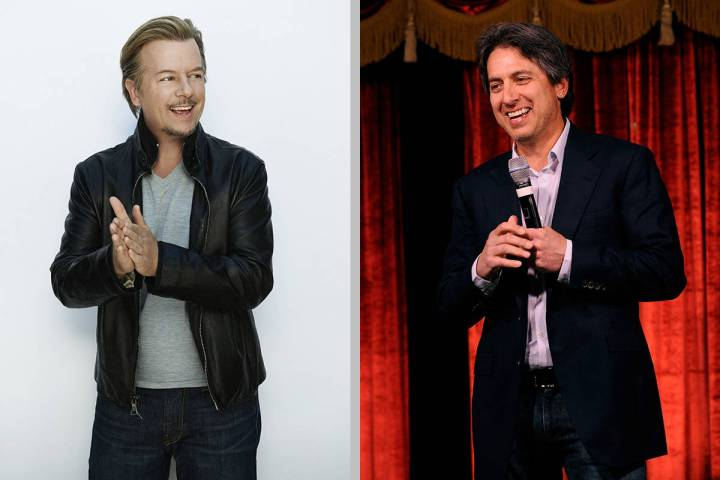 David Spade, left, and Ray Romano will play at the Mirage Theater. (MGM Resorts International; ...