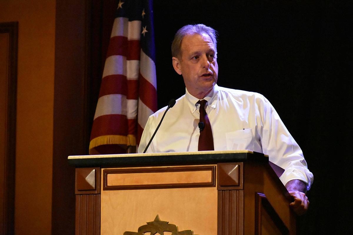 North Las Vegas Mayor John Lee, seen in January 2020. (Las Vegas Review-Journal)