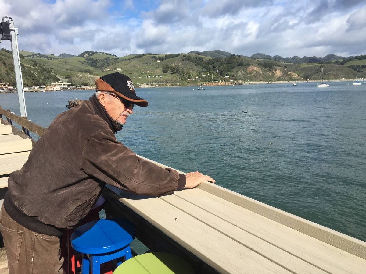 """Retired Marine Peter """"Chris"""" Christoff is pictured in Pismo Beach, Calif., in 2019. (Courtesy o ..."""