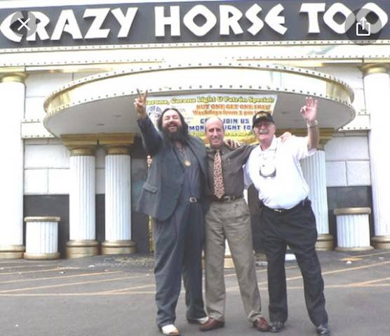 """Retired Marine Peter """"Chris"""" Christoff celebrated the closure of the Crazy Horse Too strip club ..."""