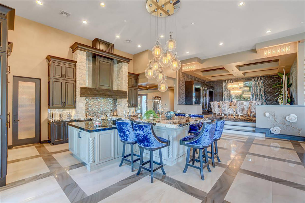 The kitchen is off the formal dining room. (Keller Williams)