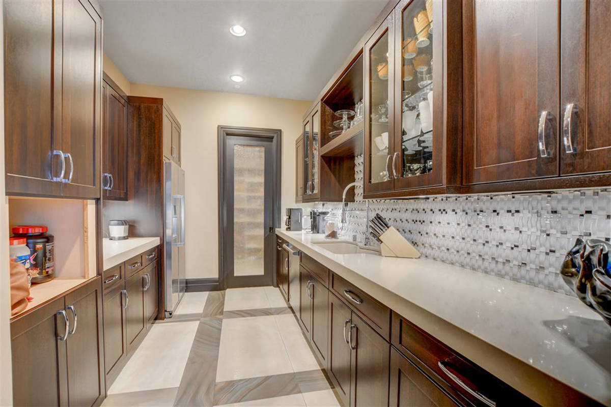 The butler's pantry. (Keller Williams)