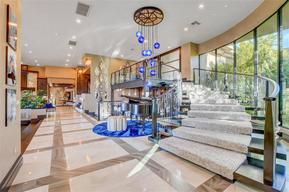 This MacDonald Highlands mansion has listed for $18 million. (Keller Williams)