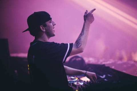 EDM star Illenium will play the first concert at Allegiant Stadium in July (Joe Janet)
