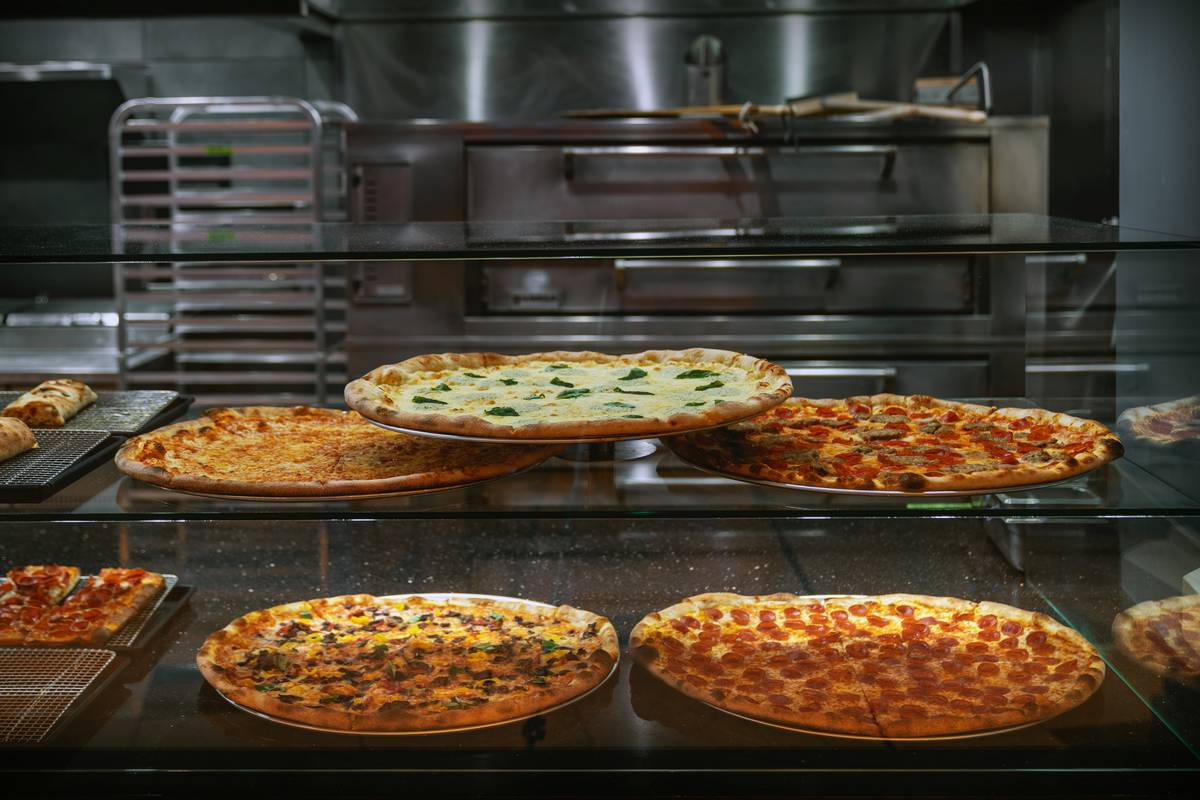 A selection of pies at Side Piece Pizza (Anthony Mair)