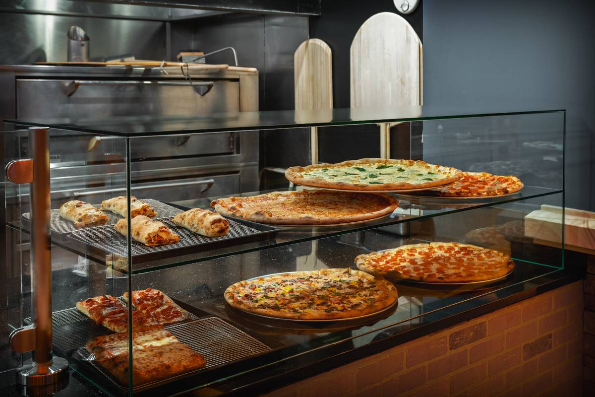 Side Piece Pizza offers New York and Sicilian pizzas as well as strombolis and other Italian op ...