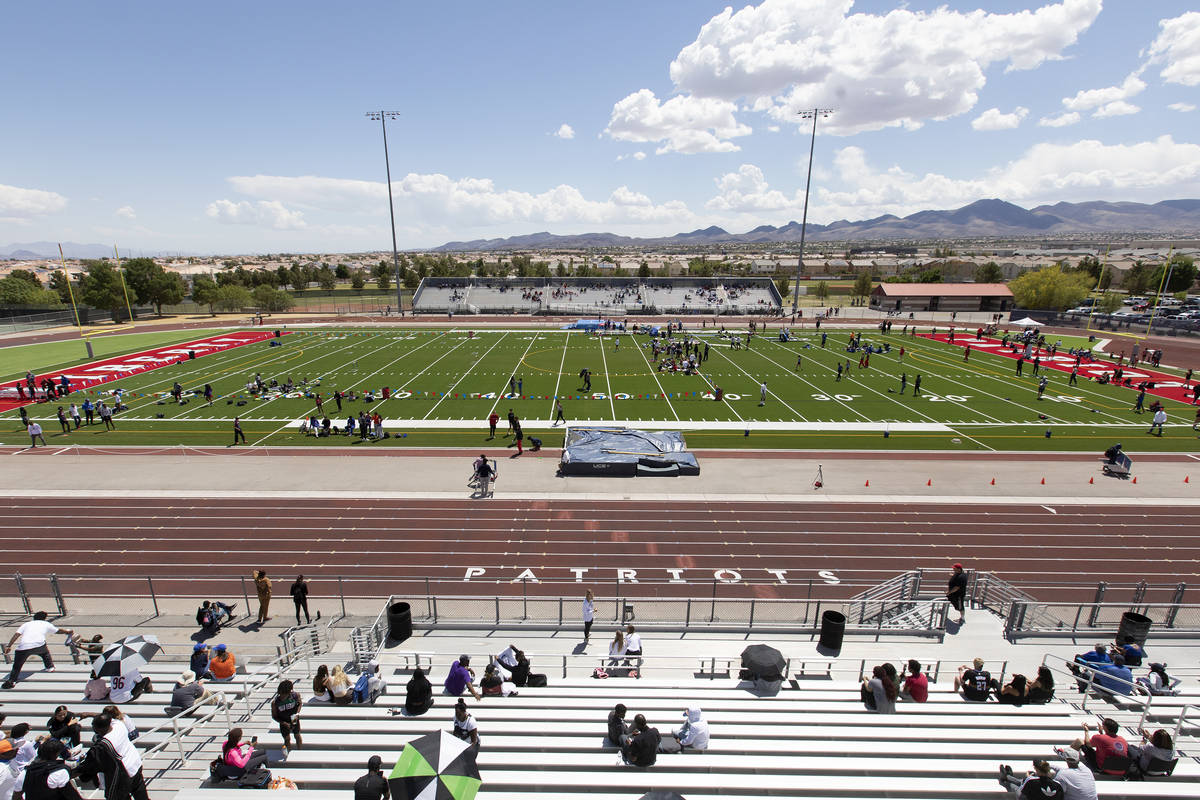 The class 5A Southern Region boys and girls track and field championships is underway at Libert ...