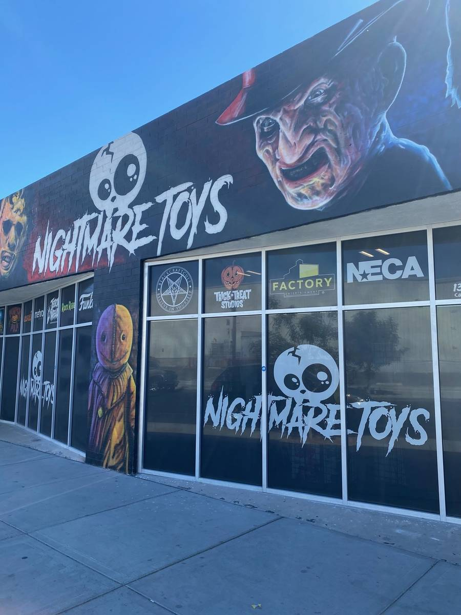Nightmare Toys in the Arts District is preparing to open a bar and restaurant known as Nightmar ...