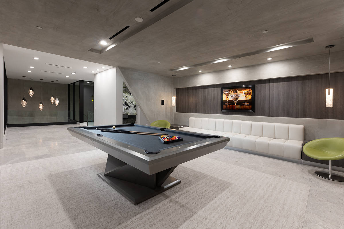The game room. (Synergy Sotheby's International Realty)
