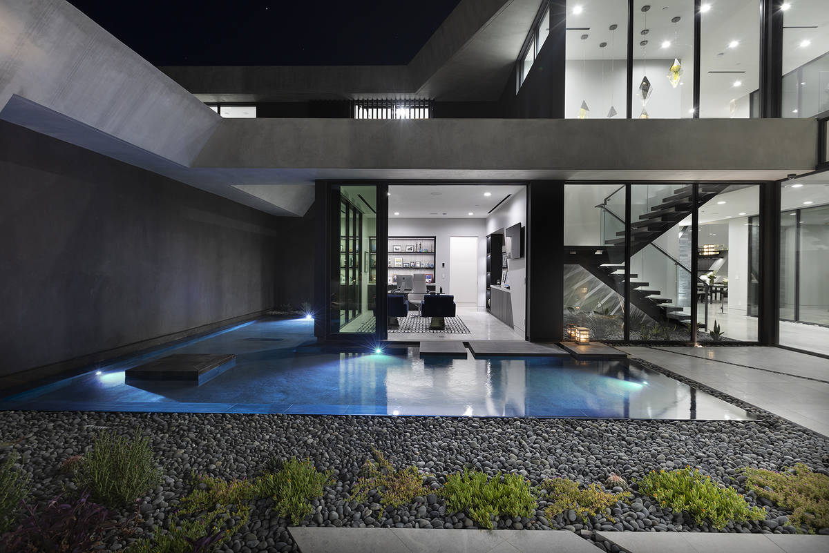The home has two levels. (Synergy Sotheby's International Realty)