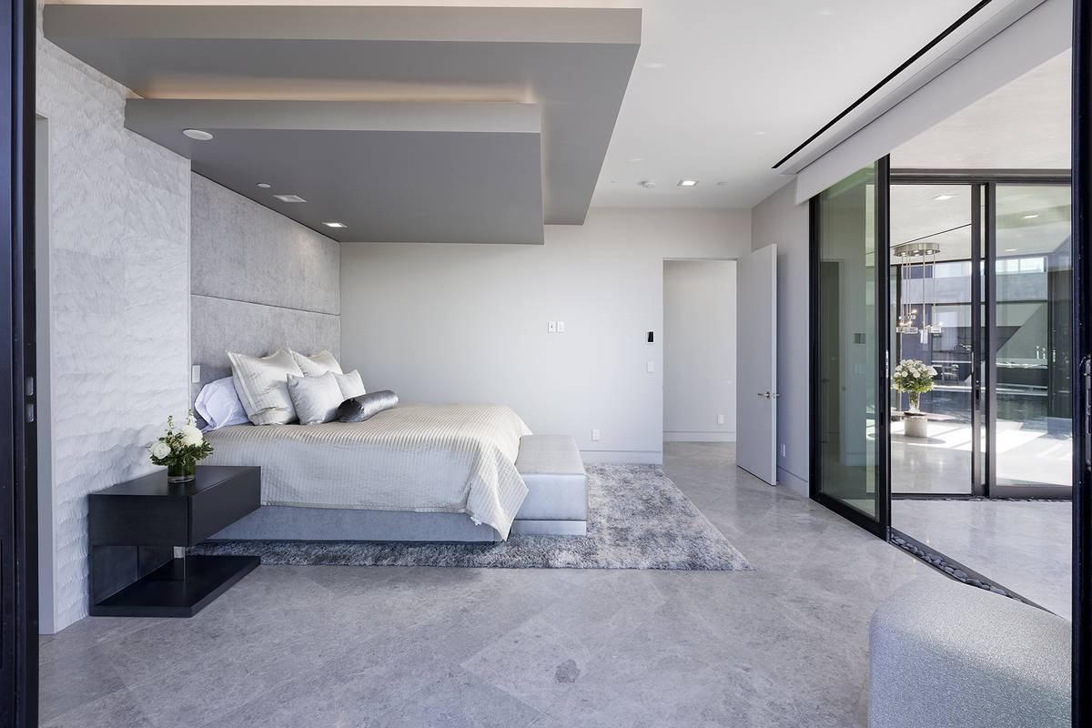 One of five bedrooms. (Synergy Sotheby's International Realty)