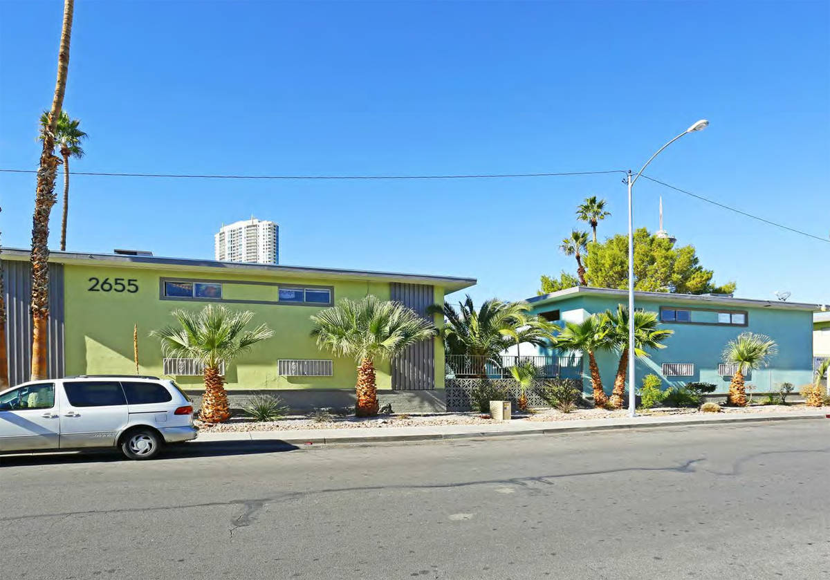 Originally built in 1963, the 24-unit property features two levels of two-bedroom and three-bed ...