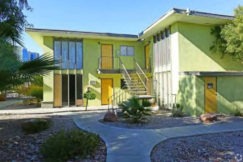 Sherwood Palms, a multifamily property in the Convention Center District of Las Vegas, was purc ...