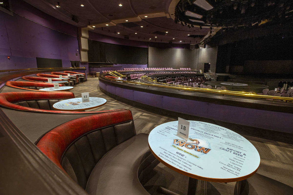 The WOW Show Theatre at the Rio will be updated by the new ownership group, Dreamscape Companie ...