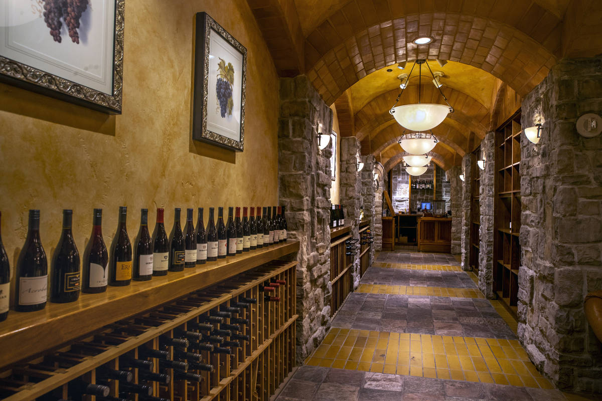 The Wine Cellar Tasting Room is shown during a tour of the Rio with the new ownership group, Dr ...