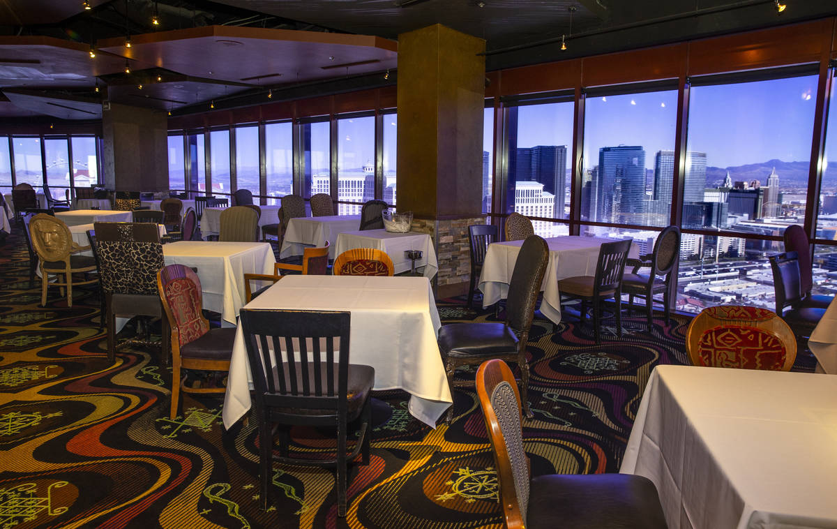 The VooDoo Rooftop Nightclub & Lounge during a tour with the new ownership group, Dreamscape Co ...