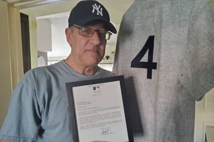 When Las Vegas author and sports writer Rob Miech wrote to then MLB commissioner Bud Selig aski ...