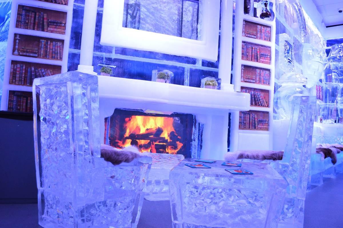 Minus5° Ice Experience at The Venetian. (Minus5° Ice Experience)