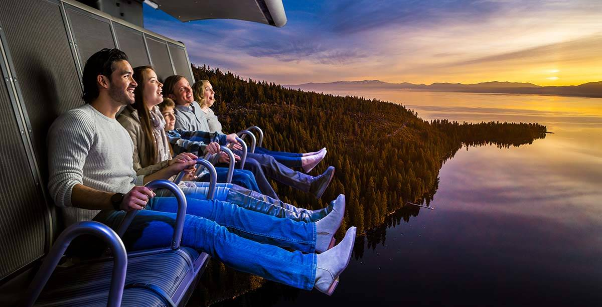 FlyOver, an immersive flight ride from global attractions and hospitality company Pursuit, will ...