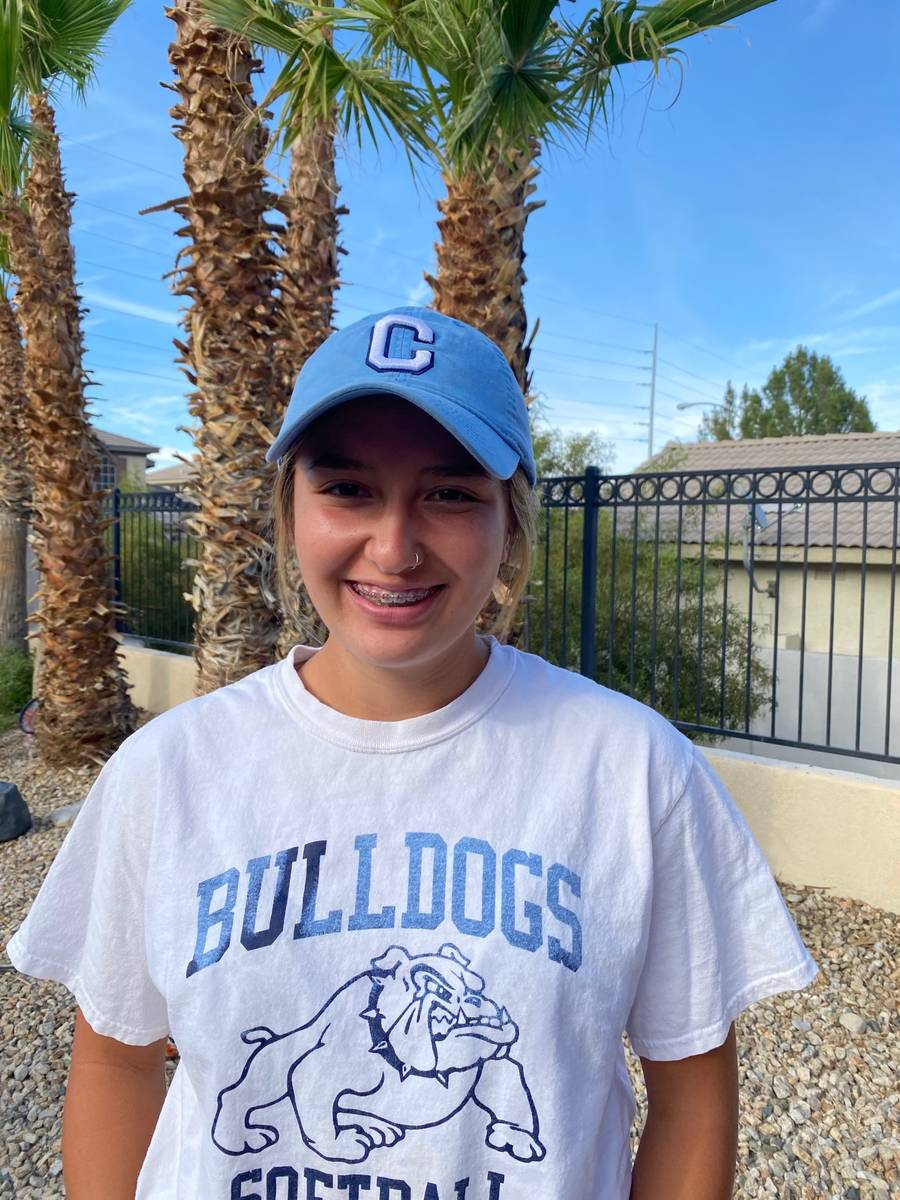 Centennial's Ellie Bostedt is a member of the Nevada Preps All-Southern Nevada softball team.