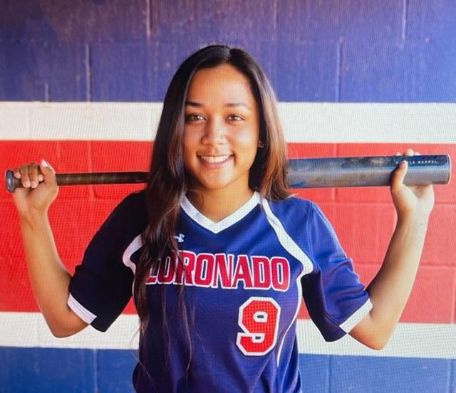 Coronado's Kaila Angel is a member of the Nevada Preps All-Southern Nevada softball team.