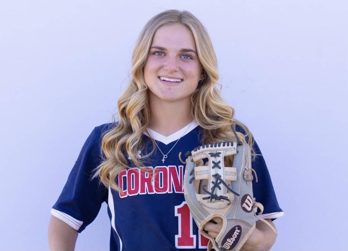 Coronado's Paige Sinicki is a member of the Nevada Preps All-Southern Nevada softball team.