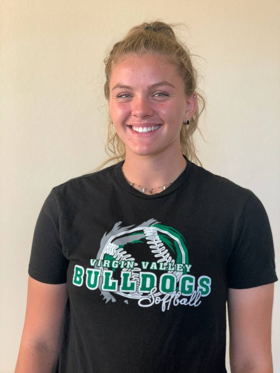 Virgin Valley's Riley Price is a member of the Nevada Preps All-Southern Nevada softball team.