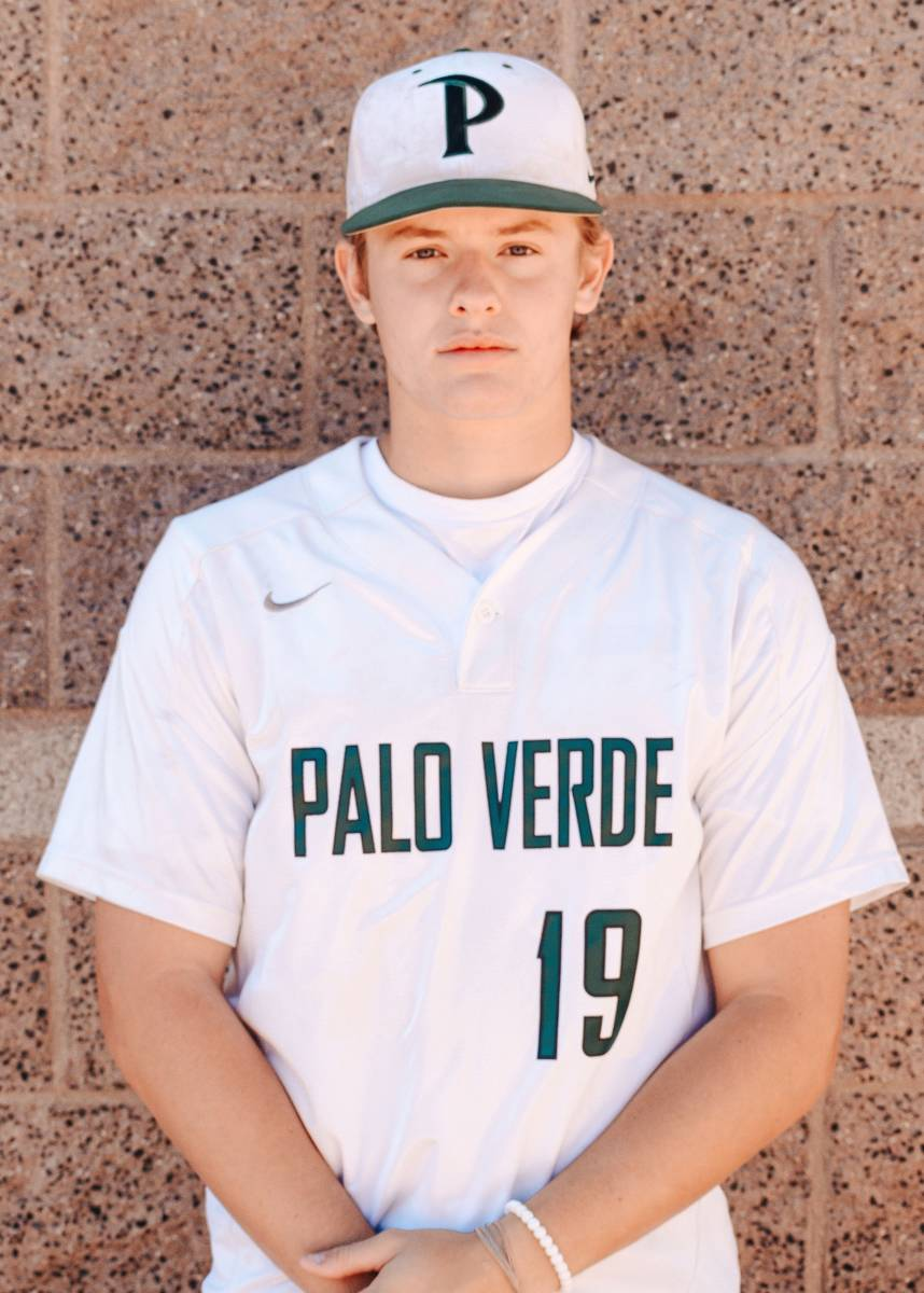 Palo Verde's Aric Anderson is a member of the Nevada Preps All-Southern Nevada baseball team.