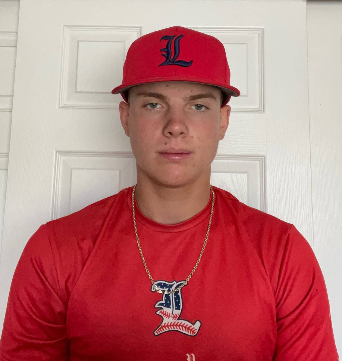 Liberty's Chase Gallegos is a member of the Nevada Preps All-Southern Nevada baseball team.