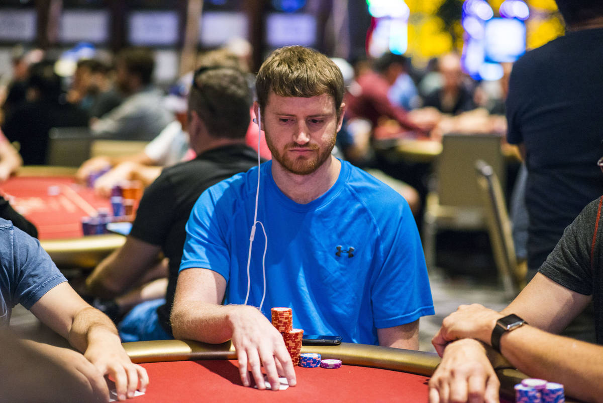 David Peters, shown in an undated photo playing in a World Poker Tour event in Las Vegas, won t ...