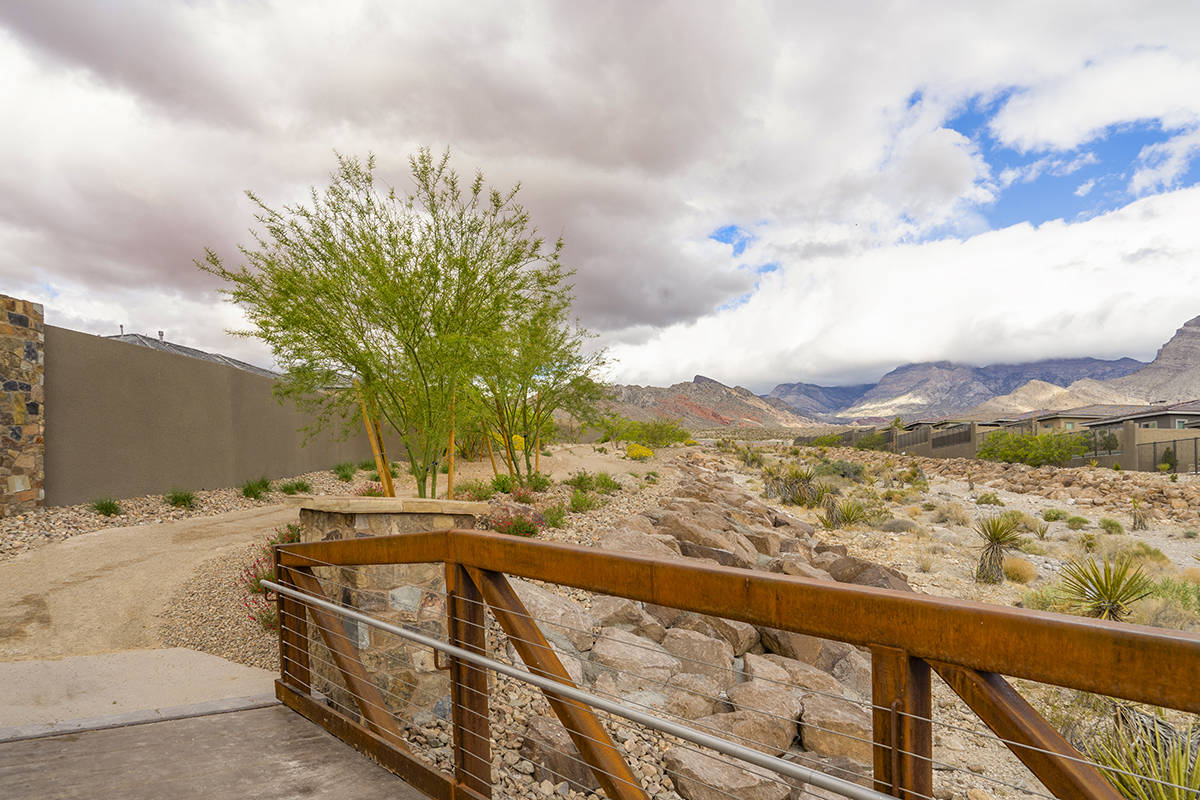 Summerlin is known for its 150-mile long system of trails that link the community and encourage ...
