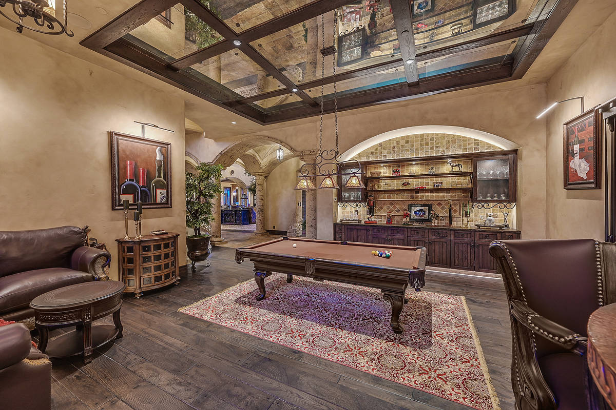 The Tournament Hills home has a Tuscan style. (Darin Marques Group)