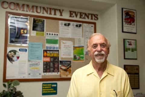 Mayor Al Litman at Mesquite City Hall on Thursday, June 3, 2021. The 2020 mayoral race sparked ...