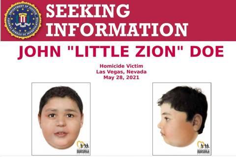"An FBI poster sent on Twitter about John ""Little Zion"" Doe on Saturday, June 5, 2021. (Twitter)"