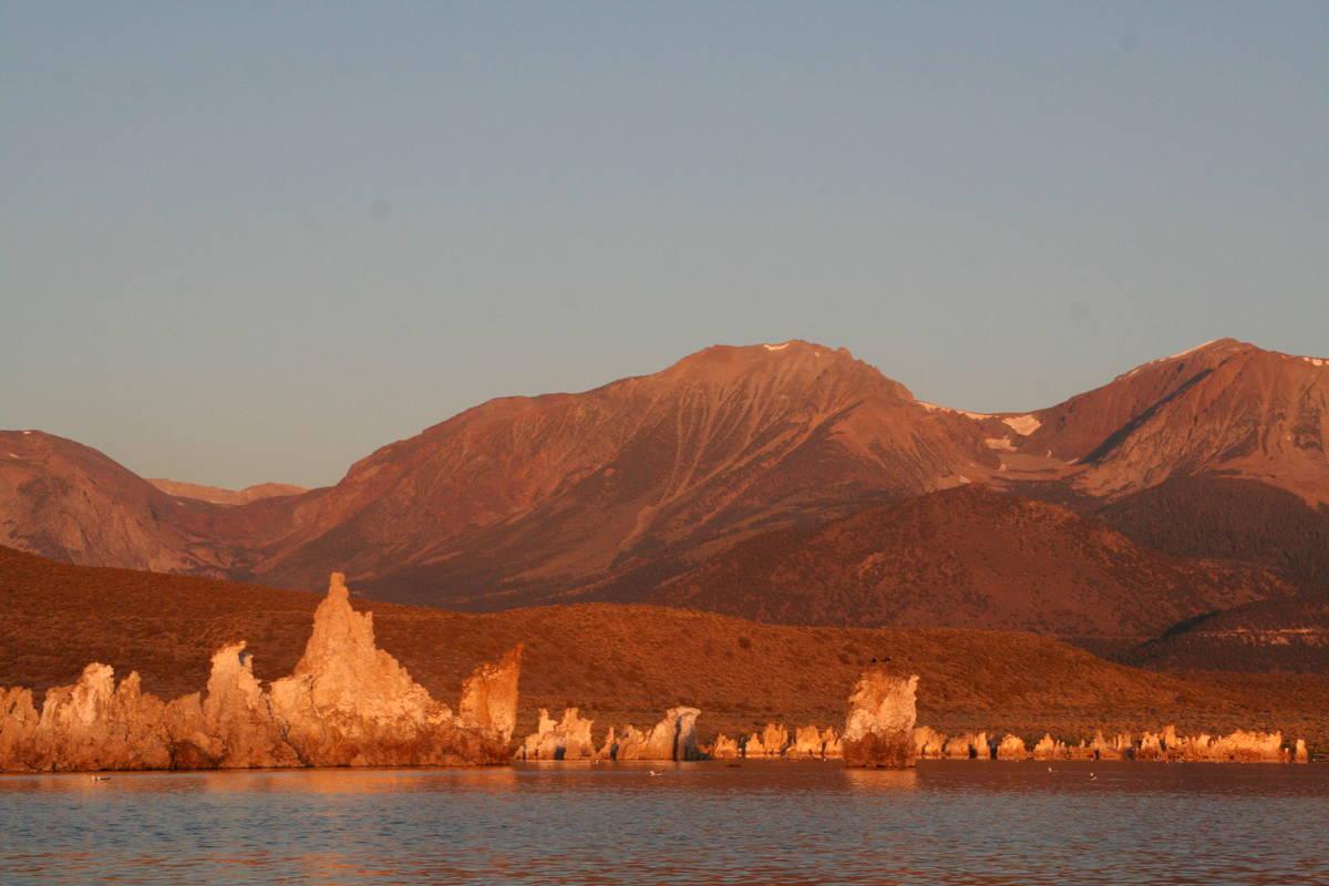 Mono Lake Tufa State Natural Reserve to protect the tufa formations and the sensitive bird habi ...