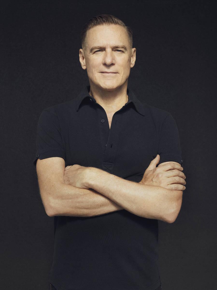 Canadian rocker and three-time Academy Award nominee Bryan Adams plays Encore Theater at Wynn L ...