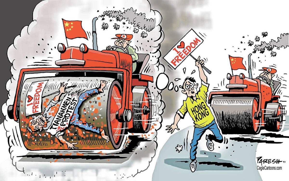 (Paresh Nath/U.T. Independent, India)