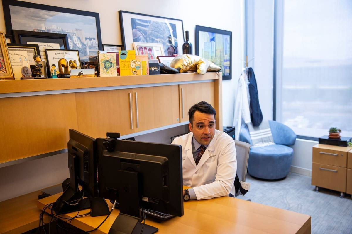 Dr. Aaron Ritter talks about his research at the Cleveland Clinic Lou Ruvo Center for Brain Hea ...