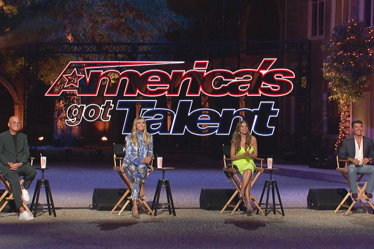 "Howie Mandel (from left), Heidi Klum, Sophia Vergara and Simon Cowell of ""America's Got Tal ..."