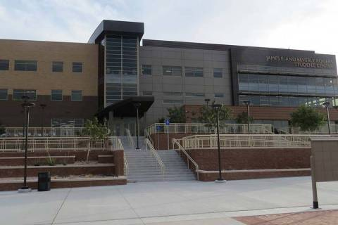 Nevada State College. (Las Vegas Review-Journal file)