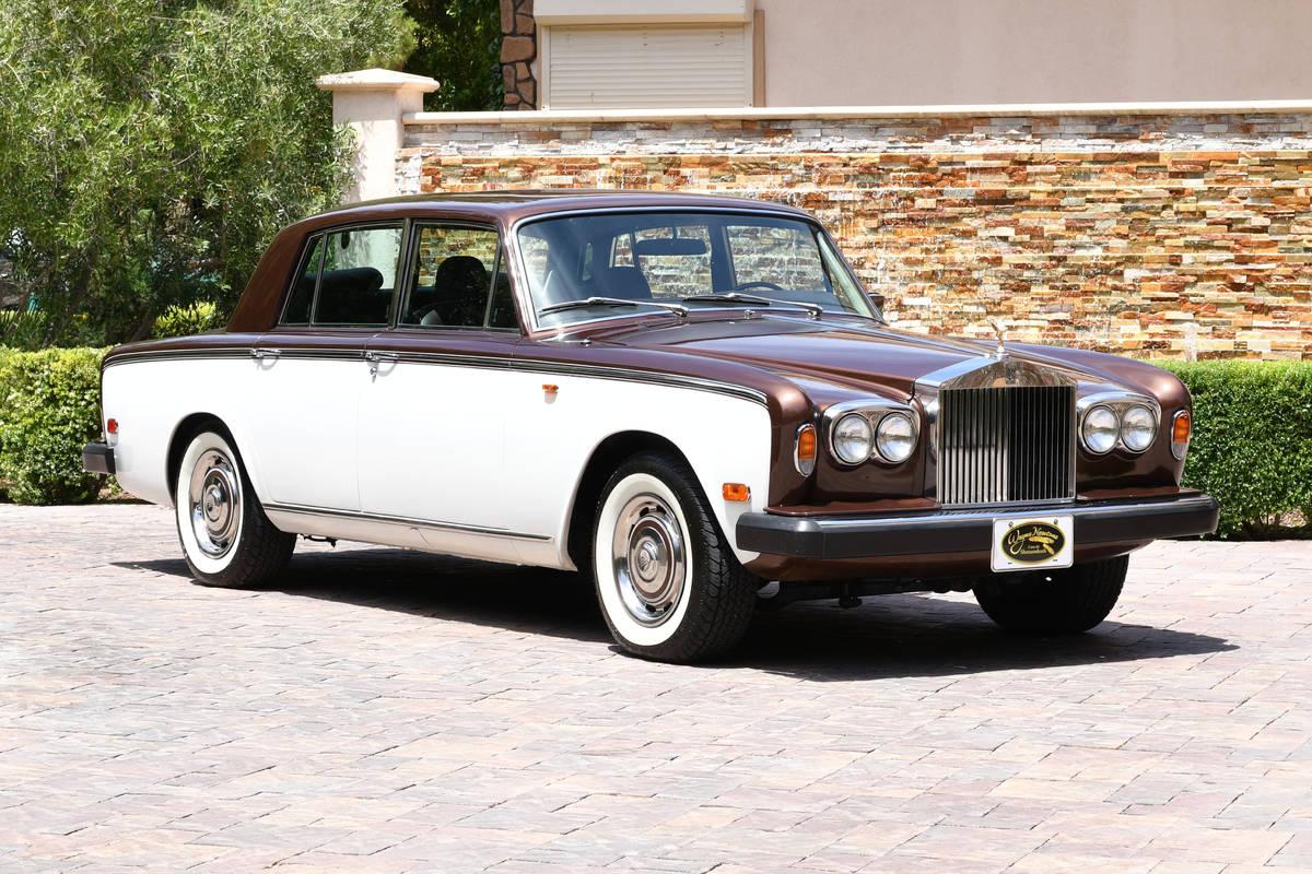 Wayne Newton's 1979 Rolls-Royce Silver Shadow II up for auction at the Barrett-Jackson Las Vega ...