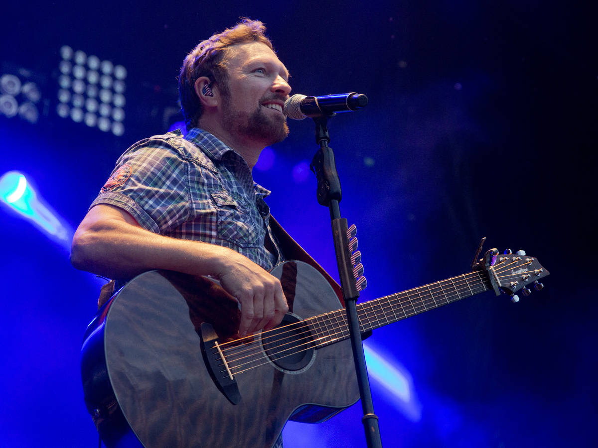 Craig Morgan is part of the 2021 Downtown Rocks free-concert series on Fremont Street Experienc ...